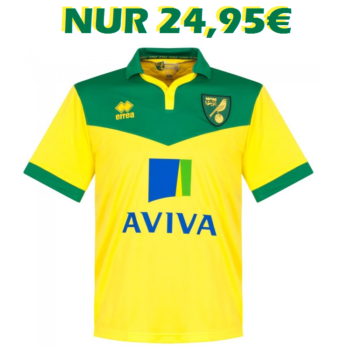 Norwich City Heimtrikot