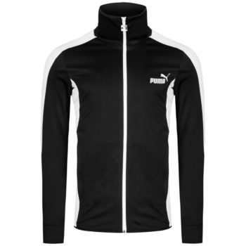 PUMA Retro Trainingsjacke schwarz